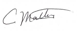 Carolyn Mattiske signature